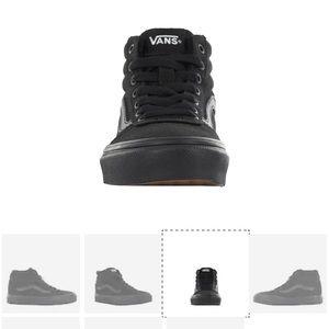 Brand new boy's Vans high top sneakers